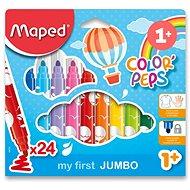 Maped Color Peps Jumbo, 24 barev - Fixy