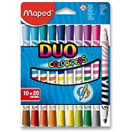Maped Color Peps Duo, 20 barev - Fixy