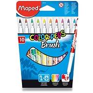 Maped Color Peps Brush, 10 barev - Fixy