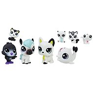 Littlest Pet Shop Černobílý set 8 ks C2826 - Tier