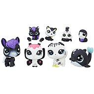 Littlest Pet Shop Černobílý set 8 ks C2147 - Tier