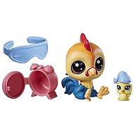 Littlest Pet Shop Maminka s miminkem a doplňky Rick Chickenluck - Zvířátko
