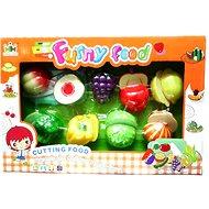 Set potravin na suchý zip ovoce a zeleniny