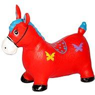 Skákací koník červená