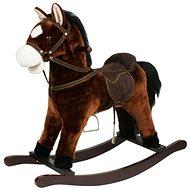 Kůň houpací hnědý tmavý