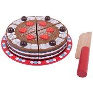 Bigjigs Krájecí dřevěný dort