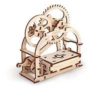 Ugears 3D mechanické Puzzle Box na vizitky