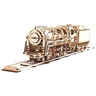 Ugears 3D Mechanická parní lokomotiva s tendrem