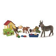 Schleich Adventní kalendář 2017 - Domácí zvířata - Herní set