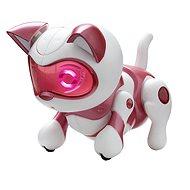 Teksta mládě Skákací koťátko růžové - Interaktives Spielzeug