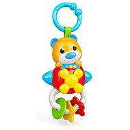 Clementoni Elektronické chrastítko medvídek s úchytem - Hračka pro nejmenší