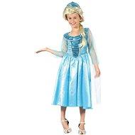 Šaty na karneval - Ledová princezna vel. S - Dětský kostým