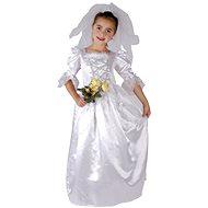Šaty na karneval - Nevěsta vel. M - Dětský kostým