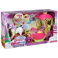 Mattel Barbie Kočár ze sladkého království - Spielset