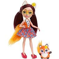 Enchantimals Panenka se zvířátkem Felicity Fox - Panenka