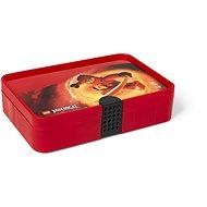 LEGO Ninjago úložný box s přihrádkami - červená