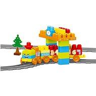 Dolu Dětská vlaková souprava, 58 ks - Baukasten