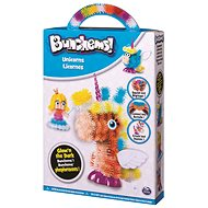 Bunchems - Fosforeskující sada Jednorožci - Kreativní sada