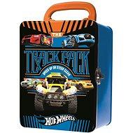 Hot Wheels Kovový kufřík na autíčka Track pack - Příslušenství k autodráze