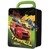 Hot Wheels Kovový kufřík na autíčka Driven to Thrill - Příslušenství k autodráze