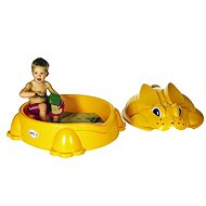 Yellow rabbit with lid - Sandpit