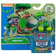 Tlapková patrola Jungle Rescue Rocky s batohem - Figurka