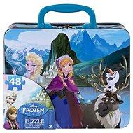 Ledové království v plechovém kufříku - Puzzle