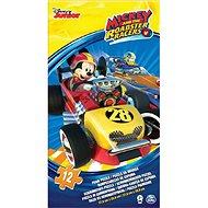 Pěnové puzzle Mickey a závodníci - Puzzle