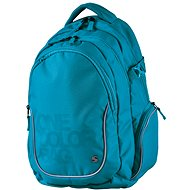 Batoh Teen One Colour tyrkys - Rucksack