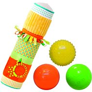 Ludi Sensoric cylinder with balls - Baby Rattle & Teether