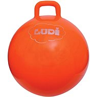 Ludi Jumping Ball 55 cm Orange - Aufblasbarer Ball