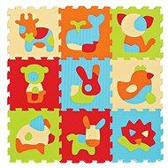 Ludi 90x90 cm Zvířátka - Pěnové puzzle