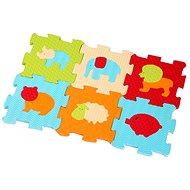 Ludi 46,5x31,5cm Zvířátka - Pěnové puzzle