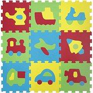 Ludi 84x84 cm Dopravní prostředky - Pěnové puzzle