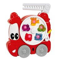 Simba Hasičské auto sa zvuky a svetlami, s držadlom