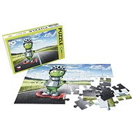 Alza Puzzle 40 pieces - Alza Alien with Gyroboard