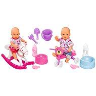 "Simba MNB Game Set 2 Puppen ""Getränke und pinkelt"" - Puppen-Set"
