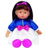 Simba Bábika Julia princezná brunetka v modro-bielych šatách