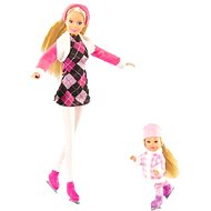 Simba Bábika Steffi a Evička s korčuľami