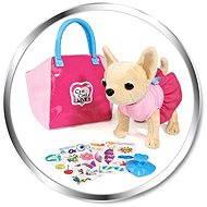 Simba ChiChi Love pejsek čivava My design v tašce - Plyšová hračka