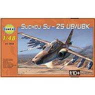 Směr Model Kit 0858 letadlo – Suchoj Su-25 UB/UBK - Plastový model