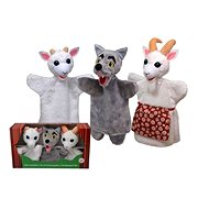 A box of puppets - Wolf and a little kitten - Hand Puppet