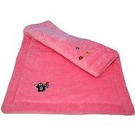Mole-rosa Decke Blumenmotiv - Decke