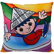 Pillow bedtime and rainbow