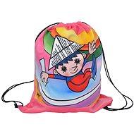 Battlesk Večerníček and rainbow - Kids' Backpack