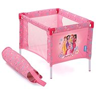 Hauck Travel cot - pink flowers