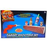Mac Toys Shooting at cans
