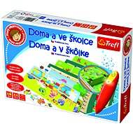 Trefl Little Discoverer - At Home and at School - Educational Toy