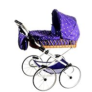 Teddies stroller Monika retro purple