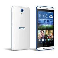 HTC Desire 620G (A31MG) Gloss White / Blue Trim Dual SIM - Mobilní telefon